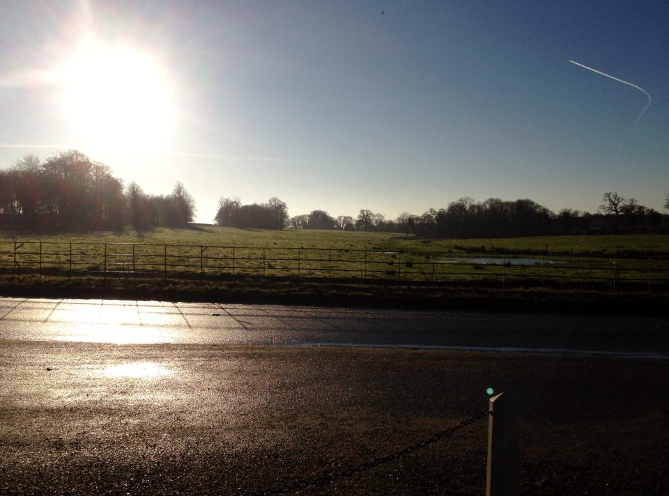 Countryside opposite Blickling Hall
