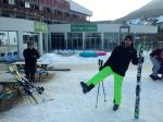 Kranjska Gora - Chris' trousers are very green