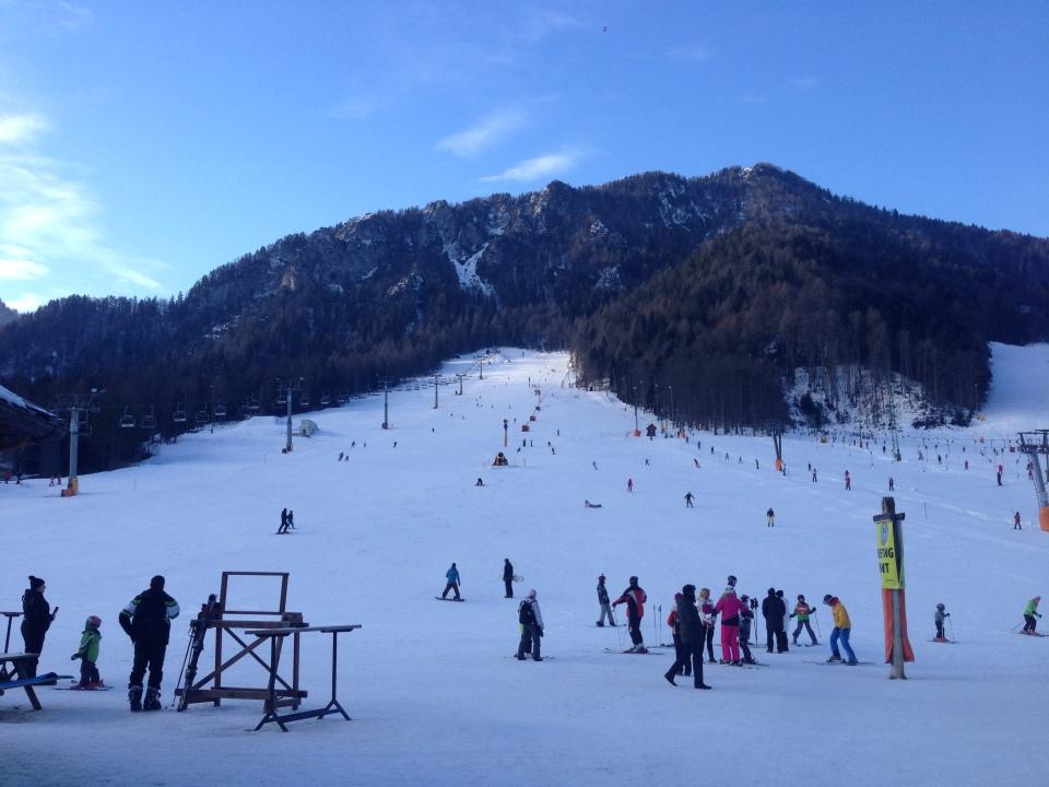Kranjska Gora - bottom of chair lift 1