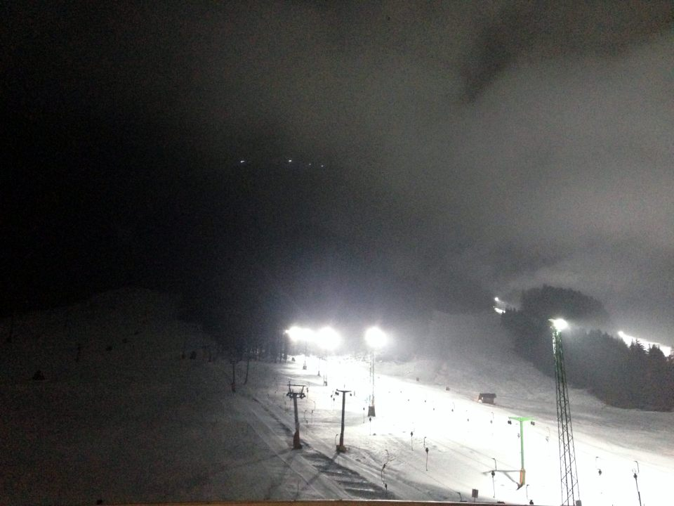Kranjska Gora - night skiing