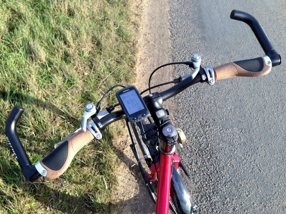Comfy handlebars and cow horns for change of grip